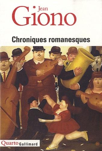 Vignette du document Chroniques romanesques